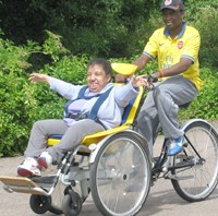 Alternate Sundays - cycling club for teenagers and adults with learning disabilities.