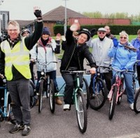 Informal inclusive cycling sessions for people who would like an opportunity to learn to ride, regain cycling confidence, improve cycling skills, socialise and get gentle exercise in safe off-road environment