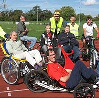 informal inclusive cycling sessions for adults who would like an opportunity to learn to ride, regain cycling confidence, improve cycling skills, socialise and get gentle exercise in safe off-road environment