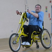 Cycling indoors - Outdoors in good weather