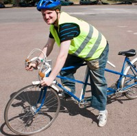 Alternate Saturdays - cycling club for teenagers and adults with learning disabilities.